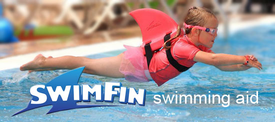 Swimfin swimming aid for children